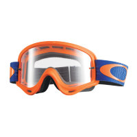 Очки для мотокросса OAKLEY Front Line Shockwave Red Blue / прозрачная (OO7087-38)