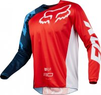 Мотоджерси Fox 180 Race Jersey Red L (19426-003-L)