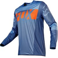 Мотоджерси Fox Flexair Libra Jersey Orange/Blue L (14960-592-L)