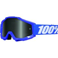 Очки 100% Accuri Sand Reflex Blue / Grey Smoke Lens (50201-002-02)
