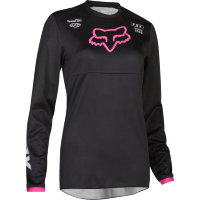 Мотоджерси женская Fox 180 Mata Womens Jersey Black/Pink L (22266-285-L)
