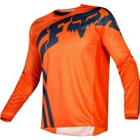 Мотоджерси FOX 180 Race Orange Blue, L