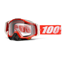 Очки 100% Racecraft Fire Red / Clear Lens (50100-003-02)
