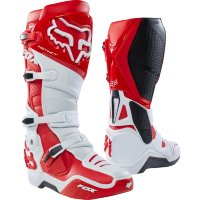 Мотоботы Fox Instinct Boot White/Red 10 (12252-077-10)