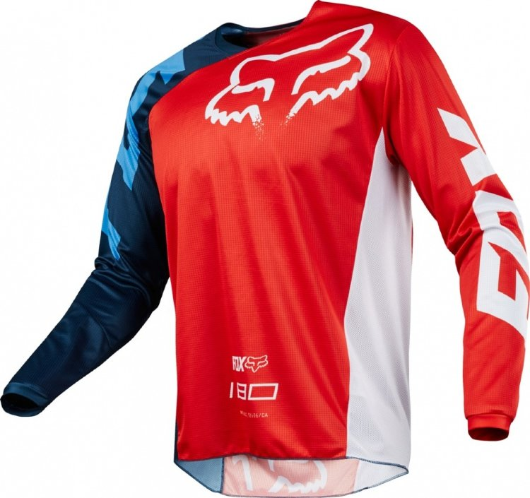 Мотоджерси Fox 180 Race Jersey Red XXL (19426-003-2X)