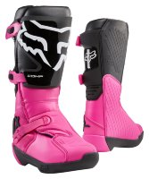 Мотоботы женские Fox Comp Womens Boot Black/Pink 6 (24013-285-6)