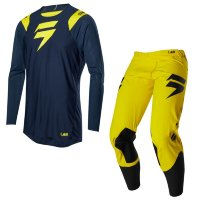 Мотоджерси Shift Blue Risen 2.0 Jersey Navy/Yellow L (20894-046-L)