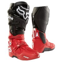 Мотоботы Fox Instinct LE Boot Black/Red 10 (17776-017-10)